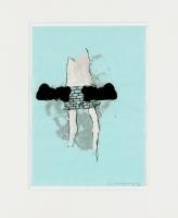 1998, Acryl, Farbstift, 21x29,5 cm