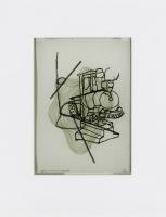 1999, Transparentpapier, Farbstift, 21 x 29,5 cm