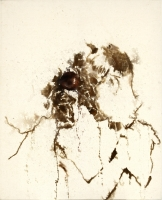 2000, Aquarell auf Leinwand, 80 x 100 cm