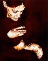 2002, Aquarell auf Leinwand, 80 x 100 cm