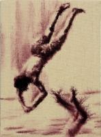 2011 , Aquarell auf Leinwand, 13 x 18 cm