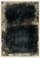 Kohle, Kreide, Ölkreide auf Zeitungspapier, 55 x 82 cm