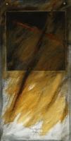 2009, Acryl auf Karton, 30 x 60 cm