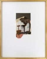 12,5 x 19 cm,Collage,Öl und Ölkreideauf Papier
