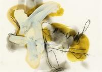 Bleistift, Ölfarbe, Kohle, 20 x 30 cm