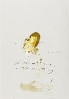 Öl, Kohle, Bleistift auf Papier, 49 x 68 cm