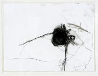 1994, Kohle auf Papier, 23.9 x 17,9 cm