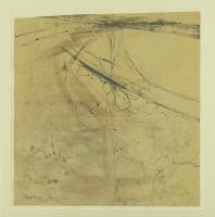 1991, Zeichnung, Bleistift auf Papier