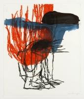 1992, Acryl auf Papier, 64 x 77 cm
