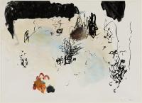 1998, Acryl auf Papier, 82 x 60 cm