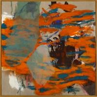 1992, Acryl, Kohle, Leinwand, 150 x 150 cm
