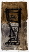 1992, Öl  auf Leinwand, 200 x 112 cm