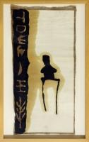 1993, Öl und Graphit auf Papier u. Leinwand, ca. 20 x 50 cm